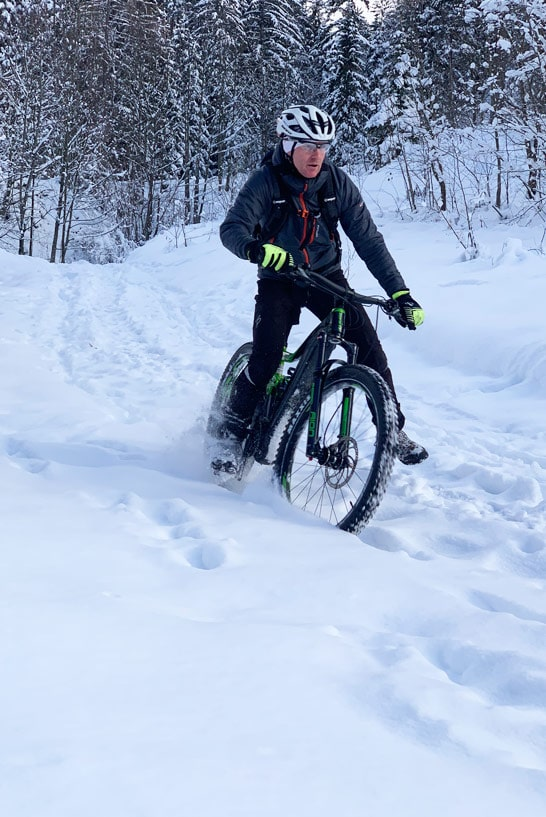 E-Bike im Winter