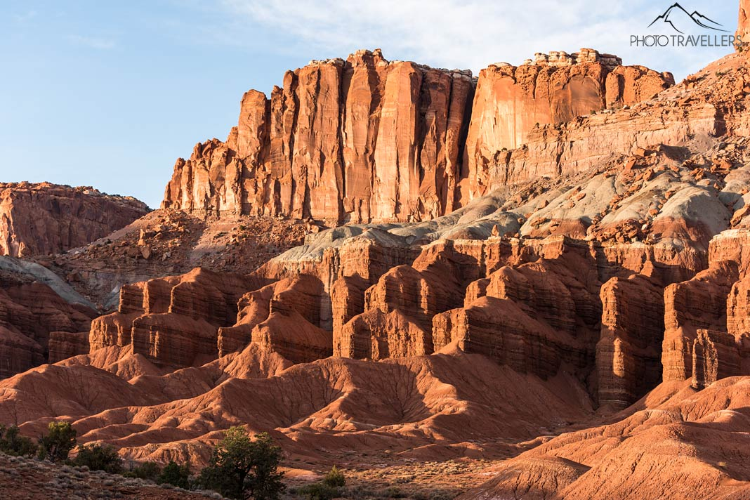 Sonnenuntergang im Capitol Reef Nationalpark