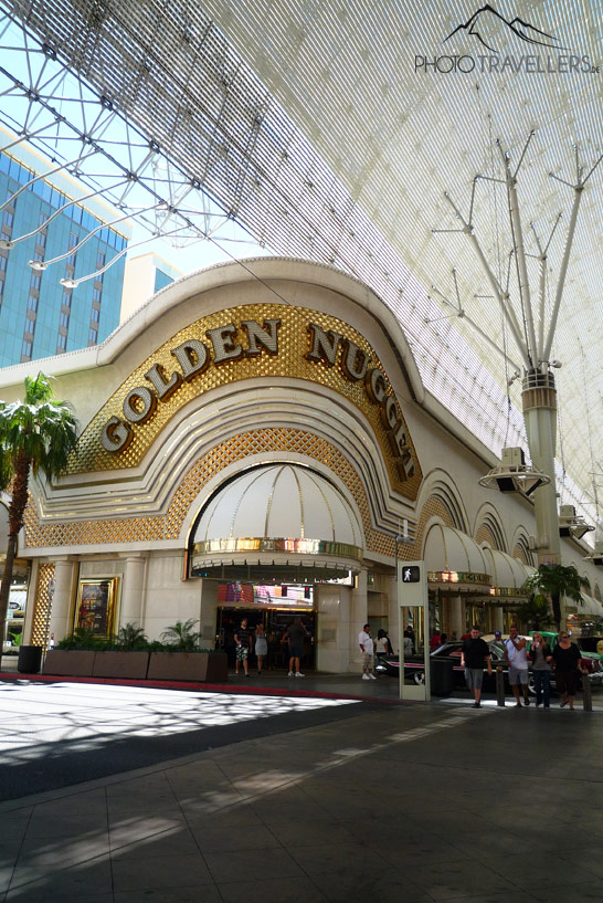 Golden Nugget Casino in der Fremont Street