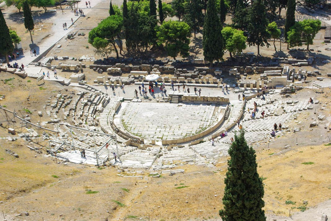 Das Dionysus Theater in Athen