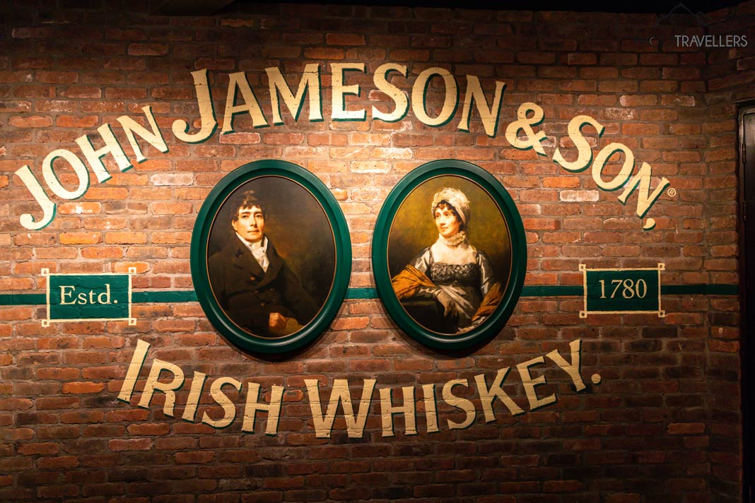 Bild in der Jameson Distillery