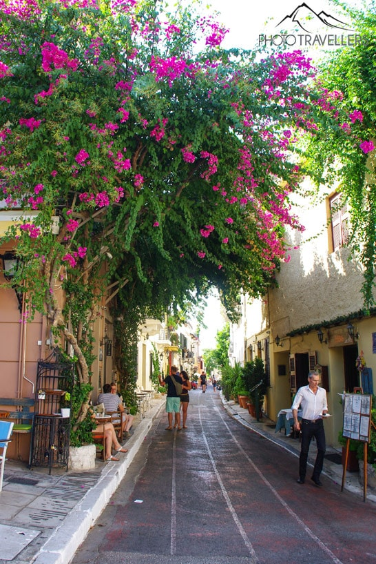 Gasse in Athen