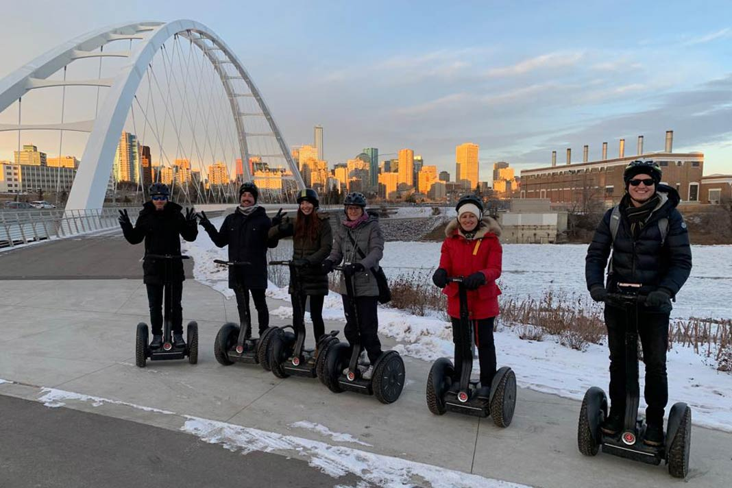 Segway-Tour in Edmonton