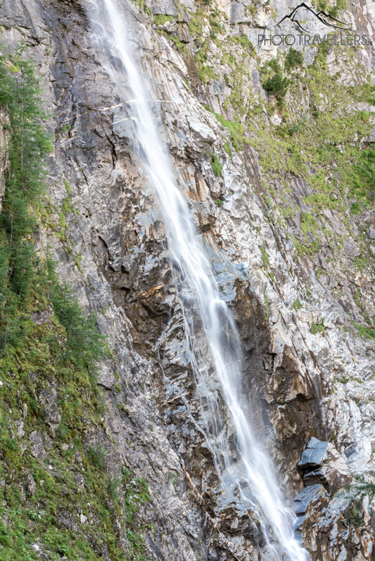 Der Leiterfall am Alpe Adria Trail