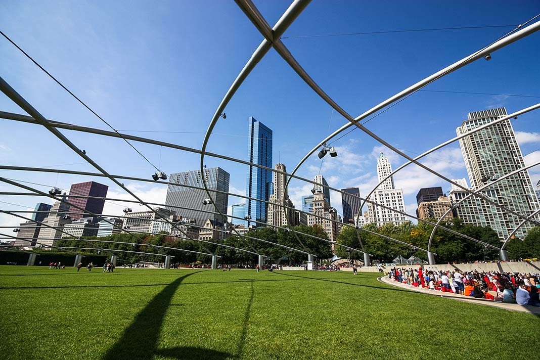 Der Millennium Park in Chicago
