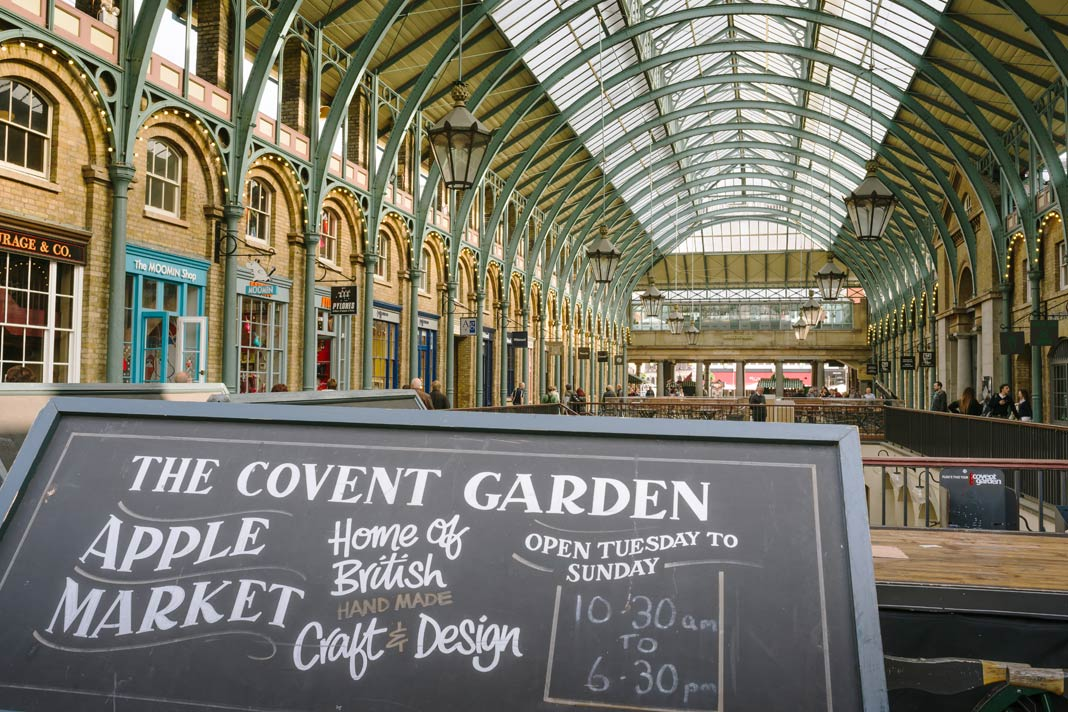Der Covent Garden Market in London