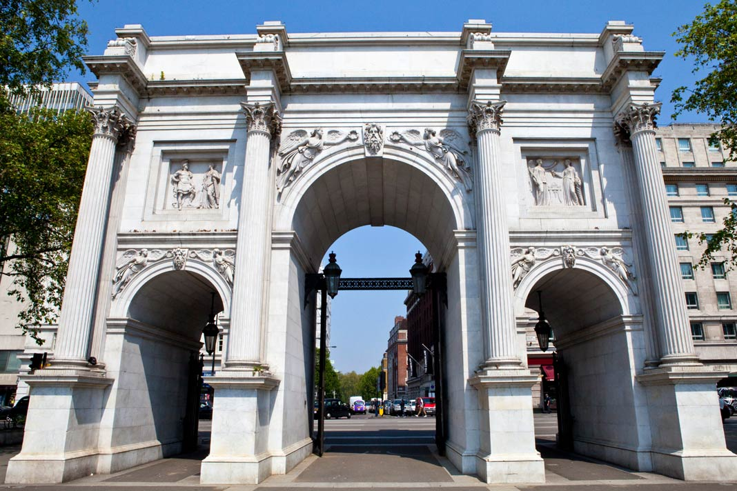 Der Marble Arch in London