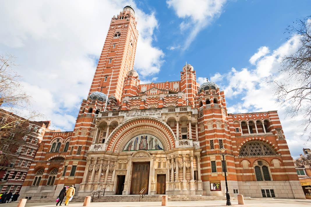 Die Westminster Cathedral in London