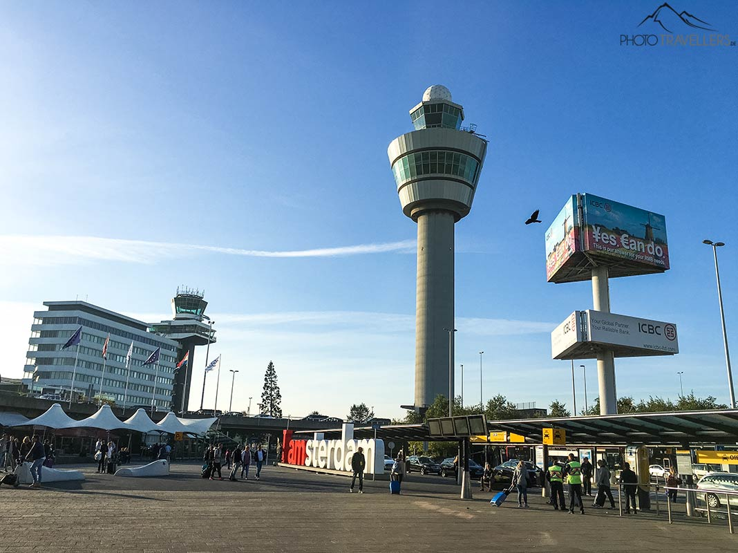 The tower of Amsterdam Schiphol Airport