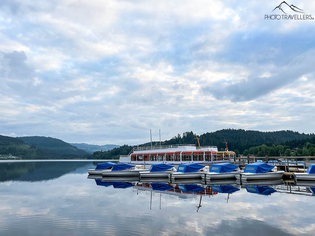 Boote am Titisee