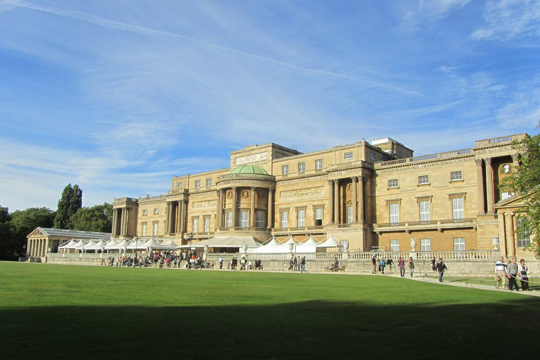 Der Buckingham Palace in London
