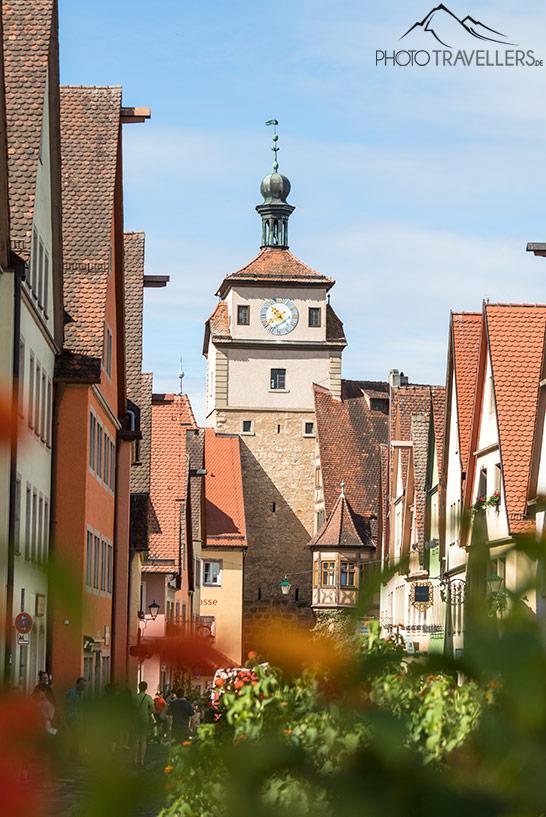 Der Weiße Turm in Rothenburg