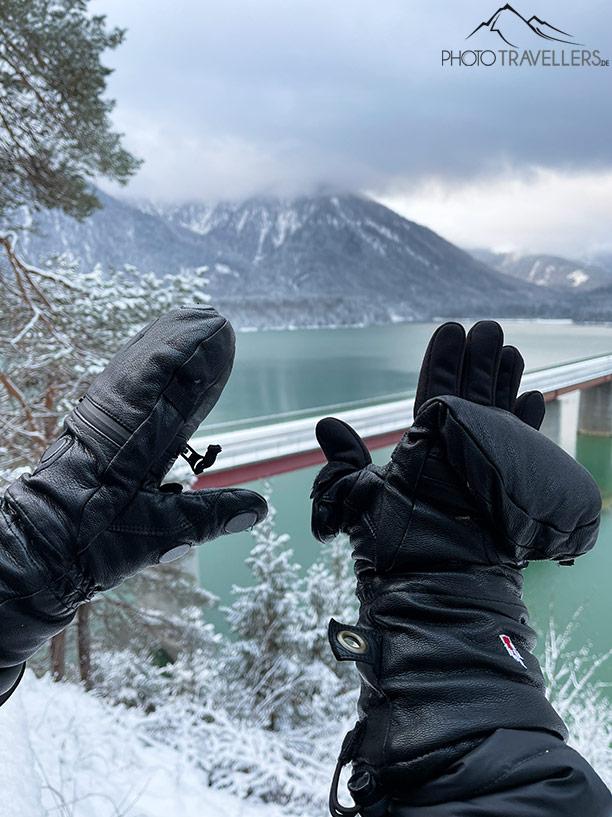 Fotohandschuhe für den Winter