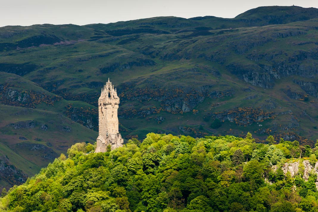 Das Wallace Monument in Sterling