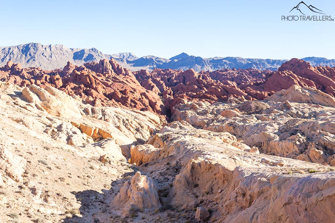 Der Fire Canyon im Valley of Fire